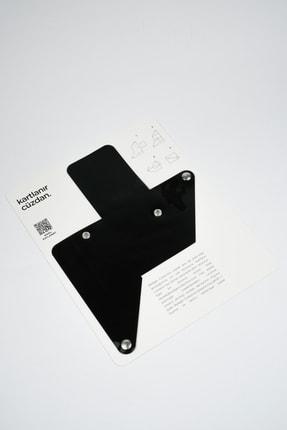 Badger Collection Katlanır Cüzdan - Unisex Kartlanır Siyah 2