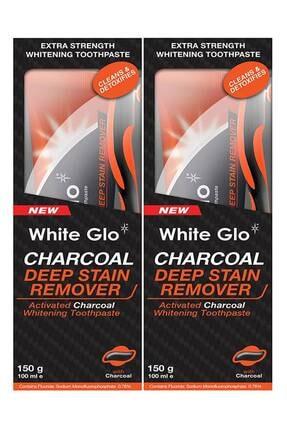 White Glo Aktif Karbon Kömürlü Beyazlatıcı Diş Macunu Avantaj Paket X 2 Adet 0