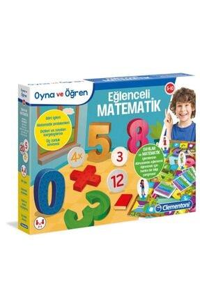 Clementoni Eğlenceli Matematik /oynaöğren 5-10 Yaş 0