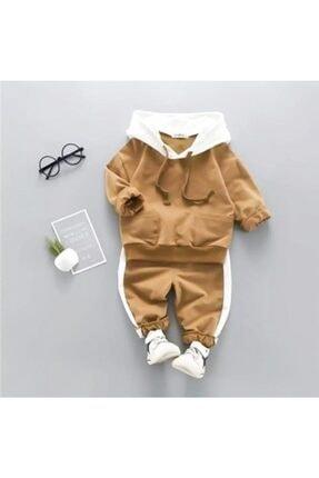 Beren Kids Kapşonlu Bebek Alt Üst Takım 0