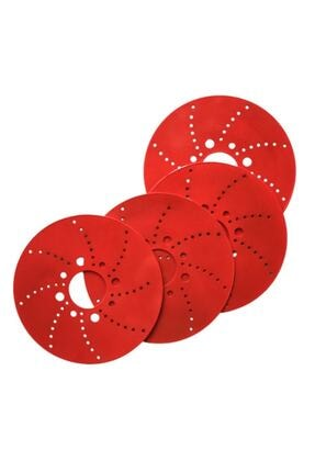 Tofaş Kırmızı 14''inç Kampana Disk Fırfırı Kampana Sacı 4'lü Set Dafa22341 0