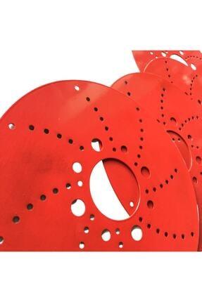 Tofaş Kırmızı 14''inç Kampana Disk Fırfırı Kampana Sacı 4'lü Set Dafa22341 1