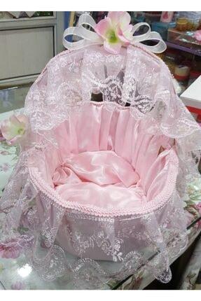 pink fiyonk Bebek Kapı Süsü & Sepet Takımı 0