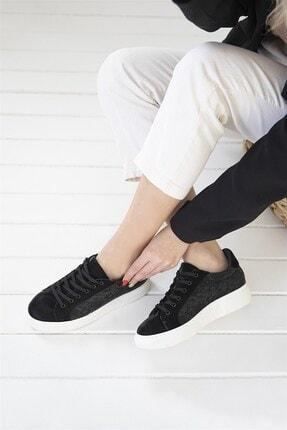 Straswans Kadın Siyah Sweet Spor Ayakkabı 2