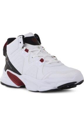 202-1400 Comforlite Spor Ve Basketbol Ayakkabısı Beyaz Kırmızı resmi