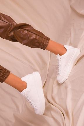 Soho Exclusive Beyaz Kadın Sneaker 15732 2