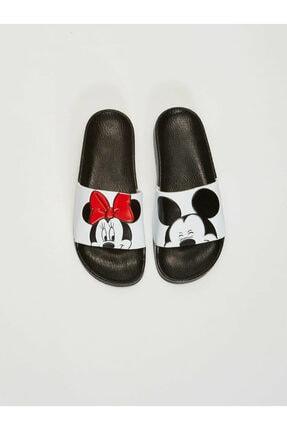 LC Waikiki Minnie Mouse Kadın Beyaz J5E Terlik 2
