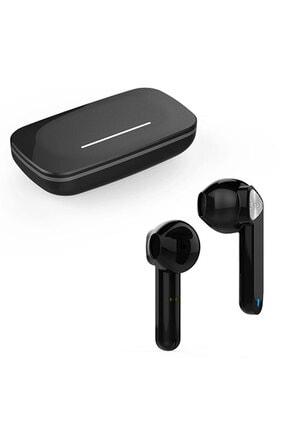 Escom Xiaomi Mi Note 10, 10 Pro Uyumlu Earbuds Siyah Kızaklı Bluetooth Kulaklık 3