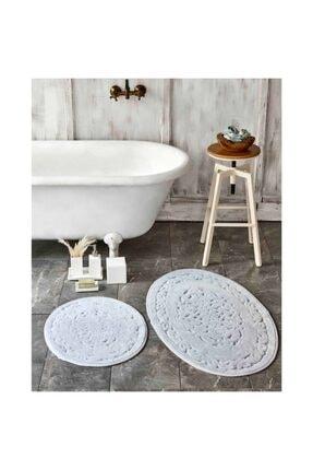 Karaca Home Obi Gri 2 Parça Banyo Paspası 0