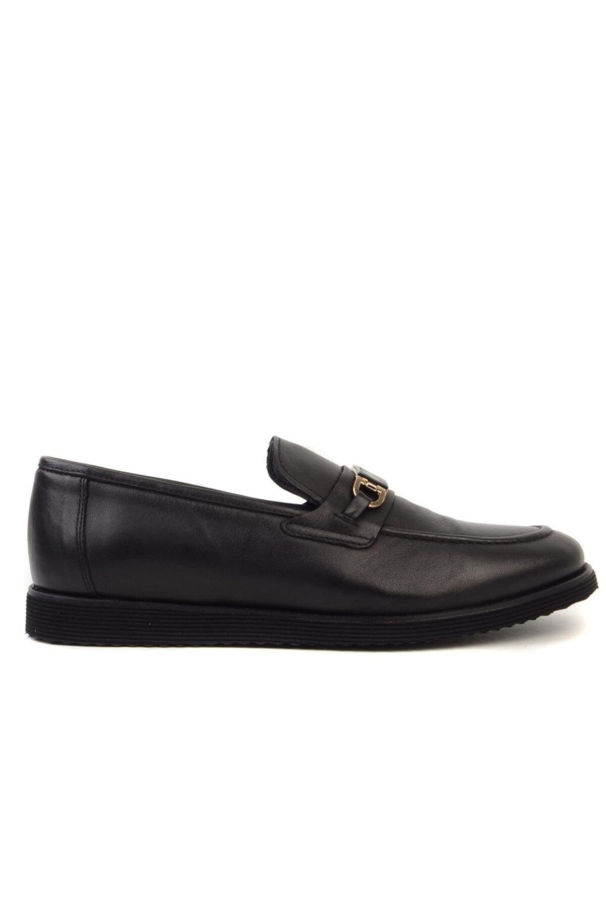 Erkek Siyah Loafer Ayakkabı