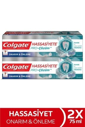 Colgate Hassasiyete Pro Çözüm Onarım Ve Önleme Sensitive Pro Relief Diş Macunu 2 X 75 ml 0