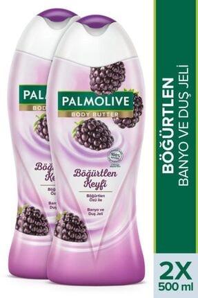 Palmolive Body Butter Böğürtlen Keyfi Banyo Ve Duş Jeli 2x 500 ml 0