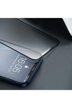 Baseus 0.25mm Iphone 12-12 Pro 6.1 3d Full Tempered Cam Ekran Koruyucu 2adet 0