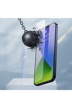 Baseus Iphone 12 Pro Max 6.7 0.3mm Ful Tempered Cam Ekran Koruyucu 2 Adet Set 3