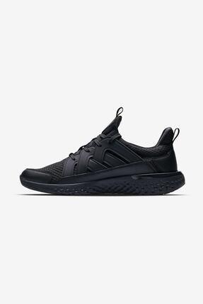Lescon Erkek Siyah Hellium Spike Sneaker Spor Ayakkabı Rahat 3