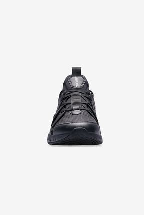 Lescon Erkek Siyah Hellium Spike Sneaker Spor Ayakkabı Rahat 4