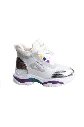 Guja Gümüş Günlük Sporbot Ayakkabı 1