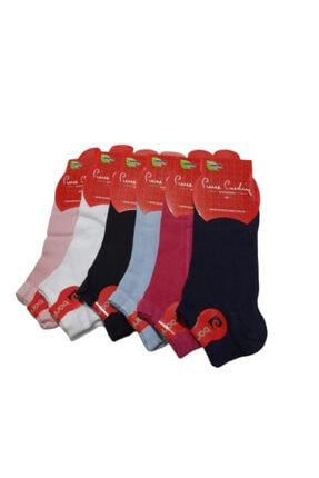 Picture of 6 Adet Karışık Renk Bambu Kadın Patik Babet Çorap