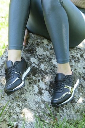 Crash Kadın Siyah Sneaker 140056 3