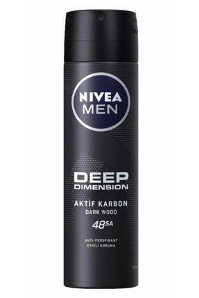 Nivea Nıvea Deep Dimension Deodorant Erkek 150 ml 1