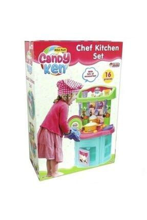 Dede Oyuncak Candy Ken Şef Mutfak Seti 1