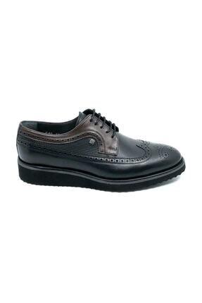 تصویر از 1106m Oxford Hakiki Deri Siyah Erkek Ayakkabı