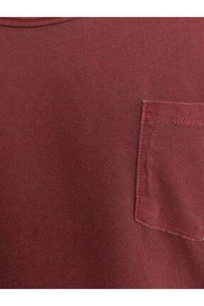 Ltb Erkek Bordo Kısa Kollu T-Shirt 4