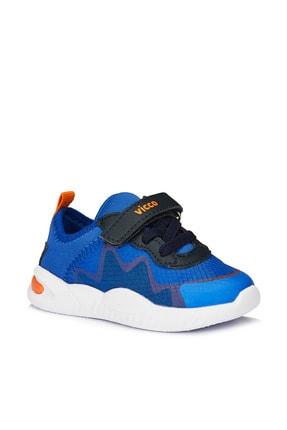 Vicco Robi Erkek Ilk Adım Saks Mavi Spor Ayakkabı 0