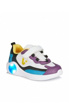 Vicco Yoda Kız Çocuk Beyaz/mor Spor Ayakkabı 0