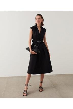 İpekyol Kemerli Midi Elbise 2