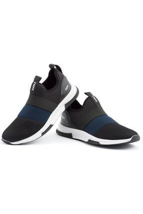 NEX 707 Siyah Lacivert Erkek Spor Ayakkabı 0