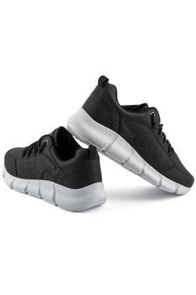 L.A Polo 021 Siyah Beyaz Erkek Spor Ayakkabı 3