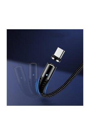 TOPK Type-c Usb Manyetik Mıknatıslı 5a Hızlı Şarj Ve Data Kablosu 2