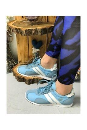 Lescon Mavi Bayan Spor Ayakkabı 4