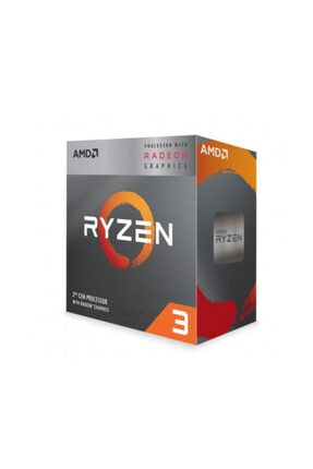Amd Ryzen 3 3200G 3.6 GHz AM4 Soket 6MB Önbellek 65W 12nm İşlemci YD3200C5FHBOX 0