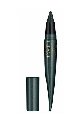 Rimmel London Suya Dayanıklı Eyeliner - 24 Saat Kalıcı Ultimate Kohl Kajal Smoked Emerald 3614225335259 0