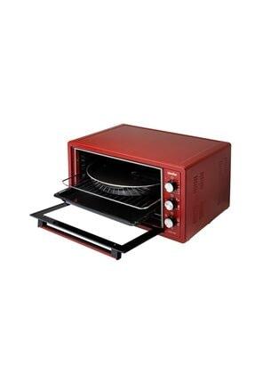 Simfer 4505 Kırmızı 45 lt Midi Fırın 3