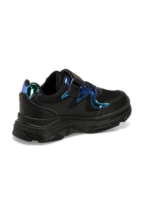 Icool HOLLY Siyah Kız Çocuk Sneaker Ayakkabı 100479639 2