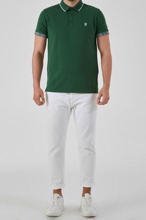 Ltb Erkek  Yeşil Polo Yaka T-Shirt 012208408060890000 2