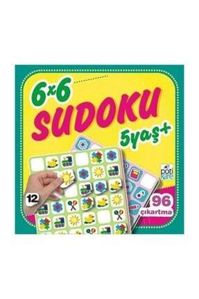 Pötikare Yayıncılık 6 X 6 Sudoku 12 0