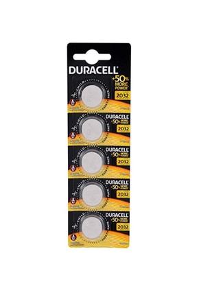 Duracell Cr 2032 3v Lityum Pil 5li Şeker Ölçüm Cihazları İçin 0