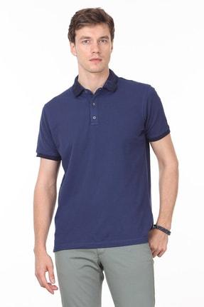 Ramsey Açık Lacivert Düz Örme T - Shirt RP10113808 1