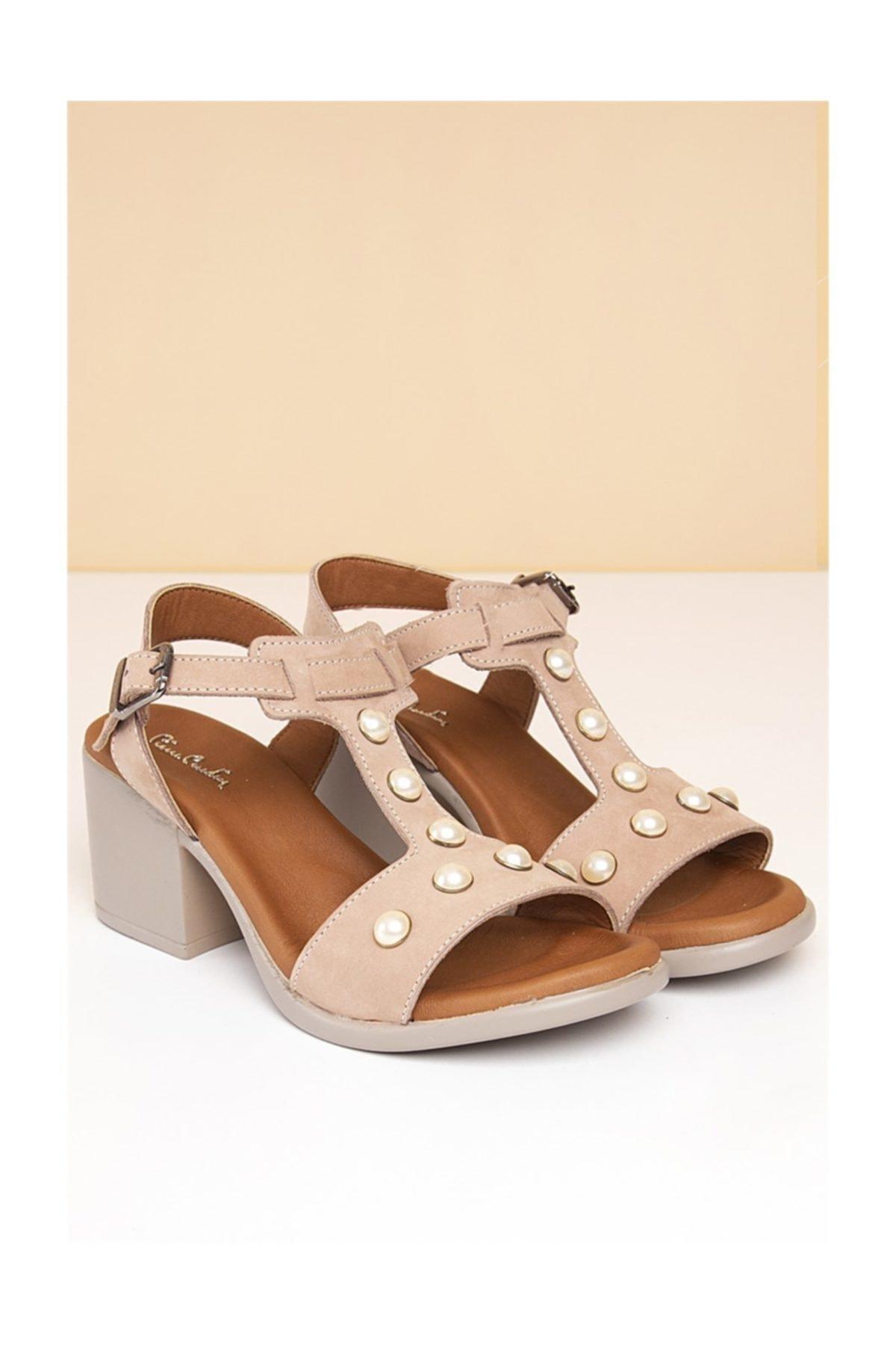 Pierre Cardin Kadın Günlük Ayakkabı-Pudra