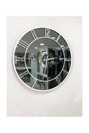 Pupilla Duvar Saati Aynalı 50 Cm Çap 2