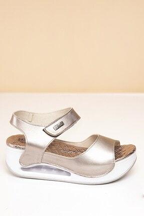 Pierre Cardin Pc-1406 Platin Kadın Sandalet 2
