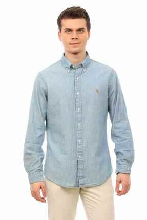 Ralph Lauren Slim Fit Denim Gömlek 0