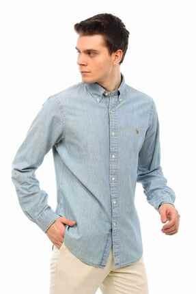 Ralph Lauren Slim Fit Denim Gömlek 2