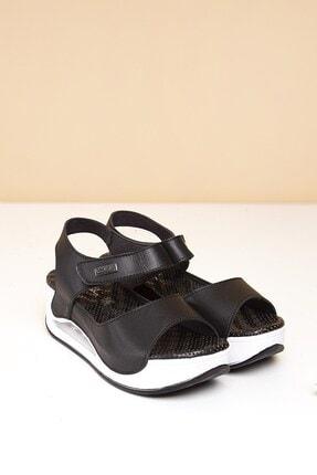 Pierre Cardin PC-1406 Siyah Kadın Sandalet 0