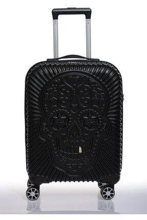 ÇÇS Siyah Unisex Kabin Boy Valiz 8698598025363 1