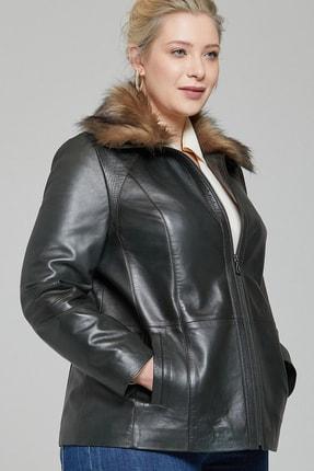 Derimod Samantha-x Kadın Deri Ceket 1